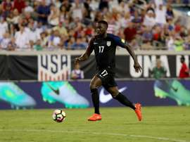 Jozy Altidore scored twice in four minutes midway through the second half as the United States thrashed Trinidad and Tobago 4-0