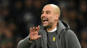 Pep Guardiola and Man City have almost lost the Premier League. AFP