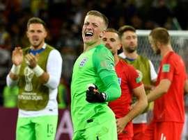Le Mondial de Pickford pourrait le conduire à Chelsea. AFP
