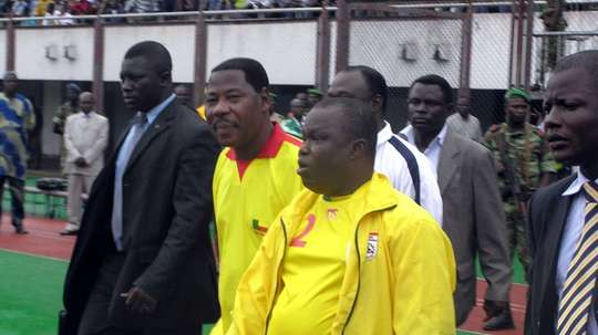 Benin president Moucharafou was arrested for his part in the scandal. AFP