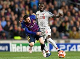 Naby Keita could play for Guinea in the AFCON despite his niggle. AFP