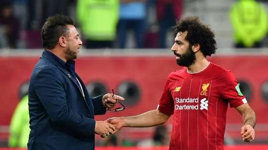Salah, Ballon d'Or du Mondial des Clubs. AFP