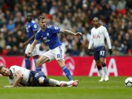 Cardiff boss has noted Tottenham players tendency to go down easy, AFP