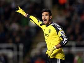 Paulo Gazzaniga podría ser el segundo de Hugo Lloris en el Tottenham. AFP/Archivo