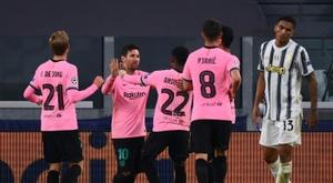 Messi s'abonne aux penaltys. AFP