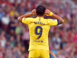 Suárez quer acabar com a seca de gols. AFP