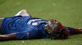 Abraham falló el penalti decisivo. AFP