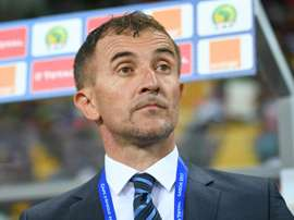 Sredojevic lead Uganda to the Africa Cup of Nations for the first time in 38 years. AFP
