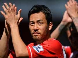 Maya Yoshida signs a new contract with Southampton. AFP