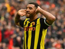 Watford's Deeney claims every team has 'one gay player'. AFP