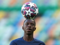 Amadou Haidara of Leipzig has tested positive for coronavirus. AFP