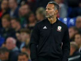 Giggs is new to management. AFP