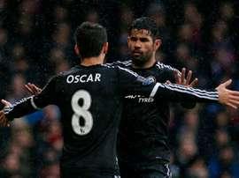 Oscar souhaite terminer sa carrière à Chelsea. AFP