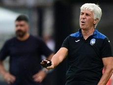 Gasperini wants to send message to rivals PSG with historic second place. AFP