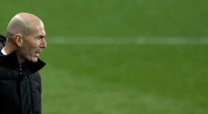 Zinedine Zidane vive temporada irregular. AFP