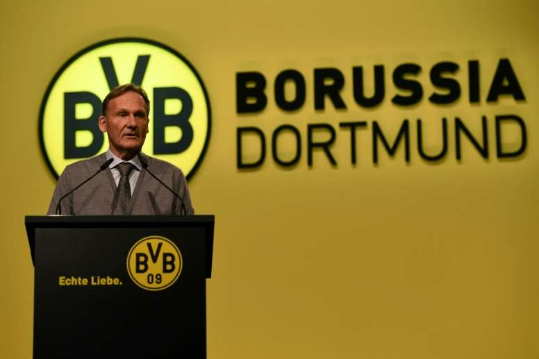 New deal for Dortmund CEO Watzke. AFP