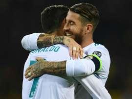 Ronaldo wants Ramos at Juve. AFP