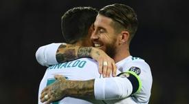 Ramos le dijo adiós a Cristiano. EFE