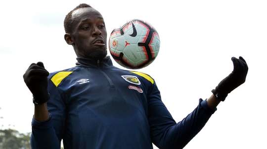 Usain Bolt will play for a professional contract with Central Coast Mariners. GOAL