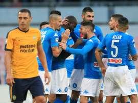 Naples est intéressé par le profil du joueur brésilien. AFP