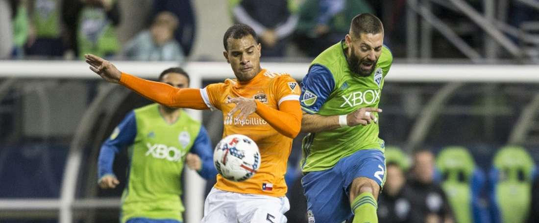 Seattle se impuso por 3-0 a su rival. AFP