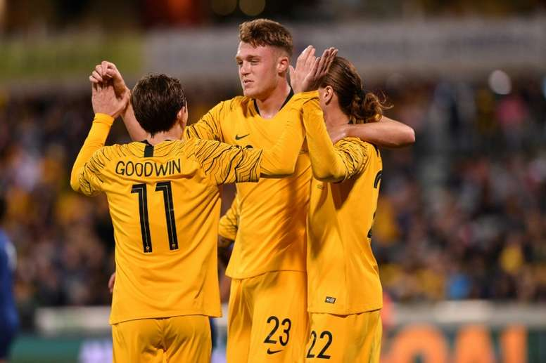 Australia thrash Nepal in World Cup qualifier. AFP