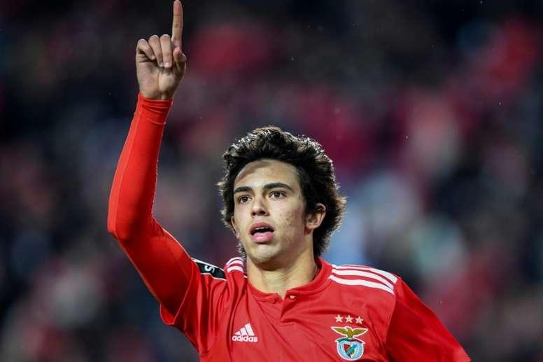 El Atleti iguala la oferta del City a Joao Félix. AFP