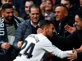 Ceballos apporte la chance au Real Madrid. AFP