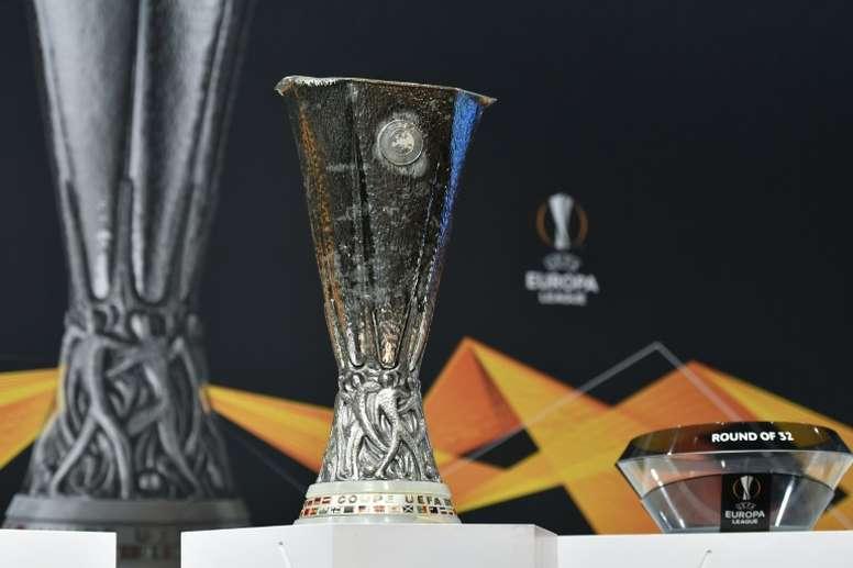 Las semis de Europa League se celebrarán el 16 y 17 de agosto. AFP