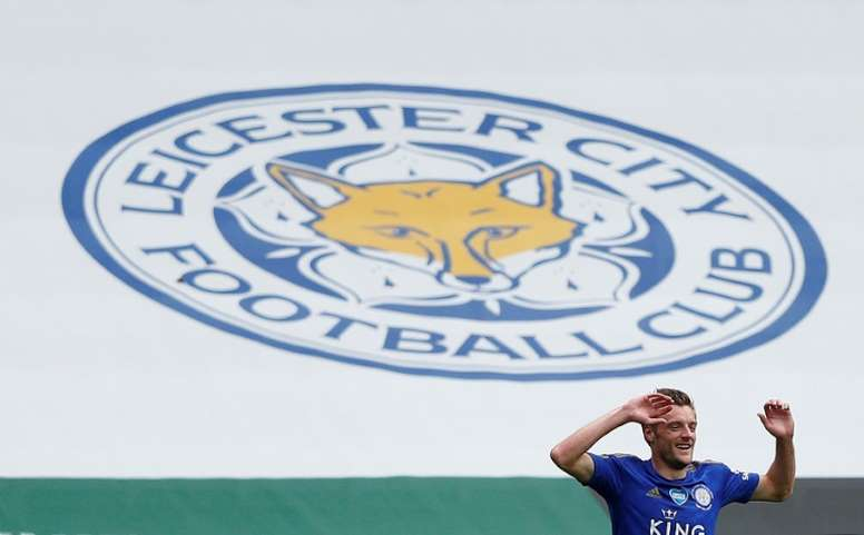 Leicester loyalty 'cements Vardy legacy', says Rodgers. AFP