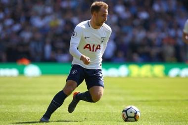 Tottenham Hotspur's Danish midfielder Christian Eriksen. AFP