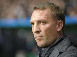 Rodgers plait à la direction de Leicester. AFP