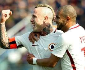 Roma soma terceira vitória consecutiva. AFP