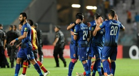 Al-Ahly SC were victorious against Tunisia's ES Tunis in the CAF Champions League group A match. AFP