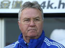 Hiddink has a wealth of managerial experience. AFP