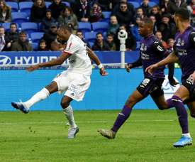 Lyon quer continuar com Toko Ekambi. AFP