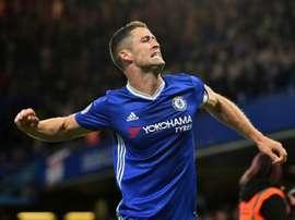 O zagueiro inglês foi várias vezes capitão dos 'blues', esta temporada. AFP