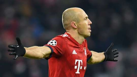 Robben cherche sa prochaine destination. AFP