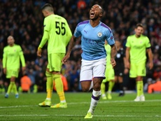 Sterling was the super sub. AFP