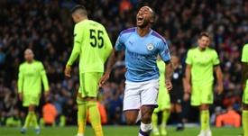 L'attaccante inglese, ma di origini giamaicane, Sterling. AFP