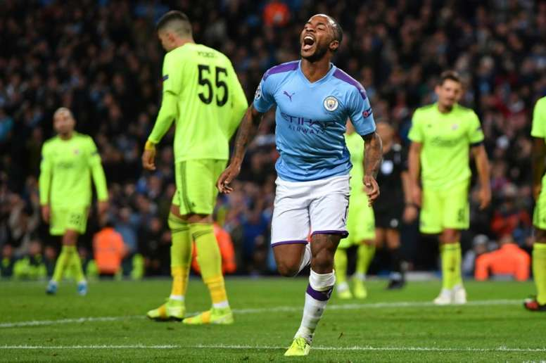 Sterling will be given a huge pay rise at Man City. AFP