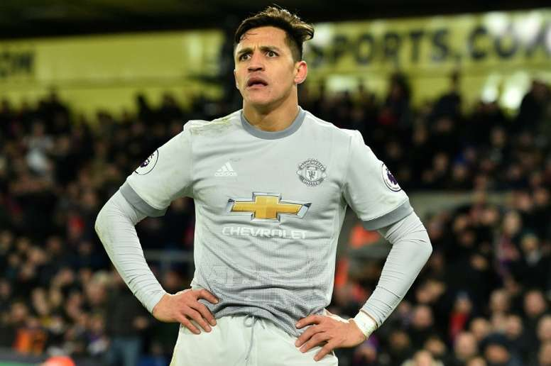 Sanchez can earn up to £25m a year if he meets all his bonus clauses. AFP