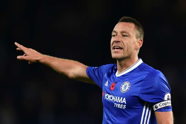Terry looks like he will finally leave Chelsea after spending all of his career at the club. AFP