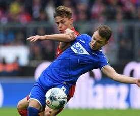 Werder Bremen drew 1-1. AFP