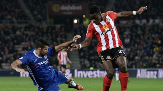 Lamine Kone is on his way out of the club. AFP