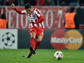 Stoke City have signed former Barcelona winger Ibrahim Afellay, pictured in action on December 9, 2014, on a free transfer
