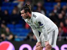 Bale has struggled at Real Madrid this season. AFP