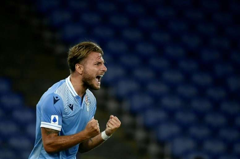 Immobile marcó. AFP