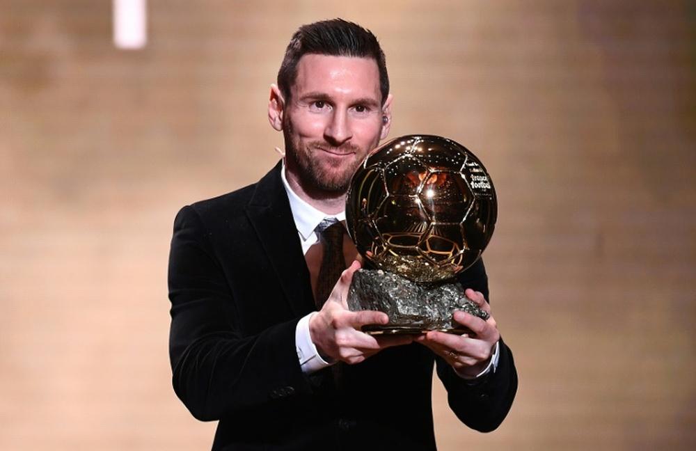 Le journaliste espagnol n'a pas voté pour Messi. AFP