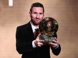 Le classement complet (et les points) du Ballon d'Or 2019. AFP